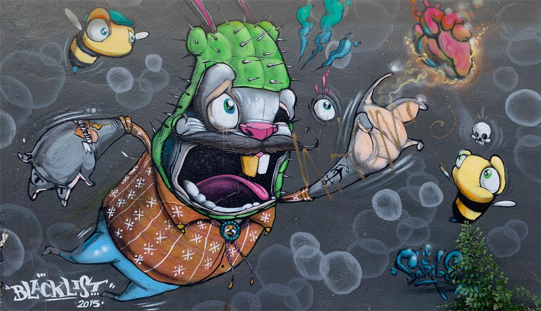 850ac67e3 Scribe - Blacklist Tattoo - Albuquerque Murals